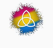 Pansexual Pride Triquetra Unisex T-Shirt