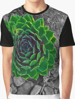 selective green Graphic T-Shirt