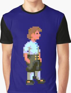 Guybrush (Monkey Island 1) Graphic T-Shirt