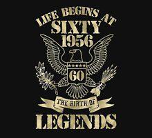 Life begins at sixty-1956 Hoodie