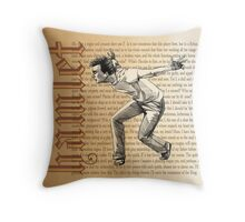 Shakespeare Rogue and Peasant Slave Soliloquy David Tennant Hamlet Throw Pillow