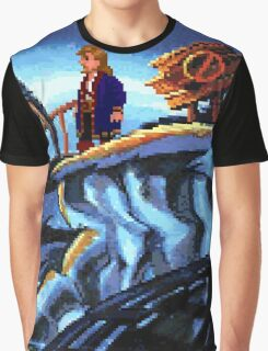 Scabb Island Panorama (Monkey Island 2)  Graphic T-Shirt