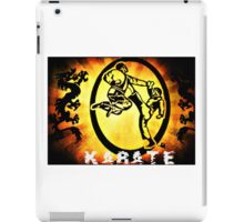 空手 Karate iPad Case/Skin