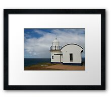 Tacking Point Lighthouse  Framed Print