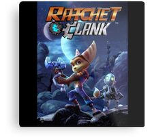 Ratchet And Clank The Movie Metal Print