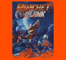 Ratchet And Clank The Movie Kids Tee