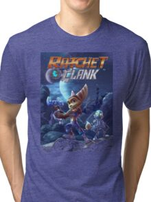 Ratchet And Clank The Movie Tri-blend T-Shirt