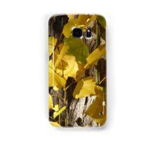 Yellow Autumn Leaves Samsung Galaxy Case/Skin