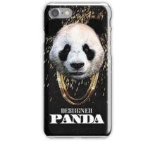 DESIIGNER PANDA TOP CHART iPhone Case/Skin