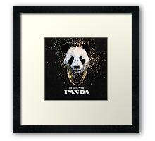 DESIIGNER PANDA TOP CHART Framed Print