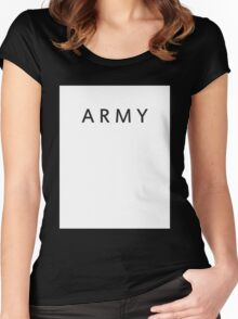 BTS ARMY Women's Fitted Scoop T-Shirt