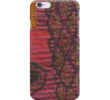 Earthy textiles piece iPhone Case/Skin