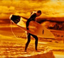 Steels Surfer Sticker