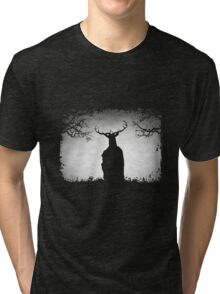Herne The Hunter Appears Tri-blend T-Shirt