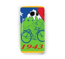 LSD Acid Hofmann Bike ride Blotter Art Psychedelic Samsung Galaxy Case/Skin