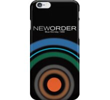 New Order - Blue Monday Tshirt (High Resolution) iPhone Case/Skin