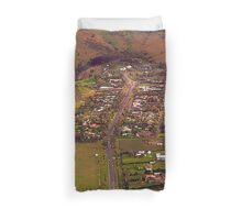 Over Victoria, Australia Duvet Cover