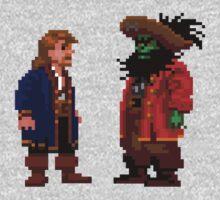 Guybrush & LeChuck (Monkey Island 2) One Piece - Short Sleeve