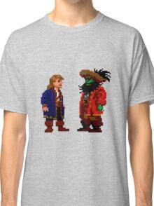 Guybrush & LeChuck (Monkey Island 2) Classic T-Shirt