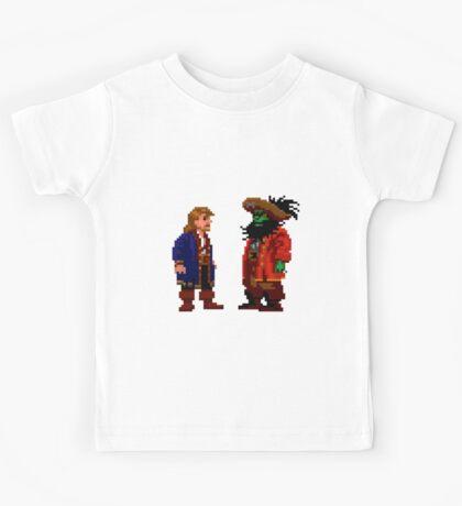 Guybrush & LeChuck (Monkey Island 2) Kids Tee
