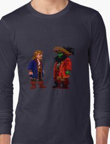 Guybrush & LeChuck (Monkey Island 2) Long Sleeve T-Shirt