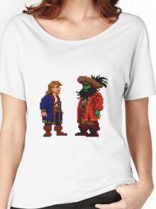 Guybrush & LeChuck (Monkey Island 2) Women's Relaxed Fit T-Shirt