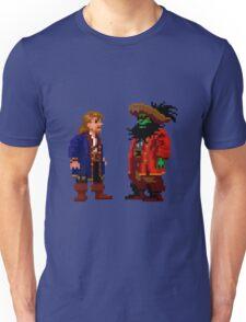 Guybrush & LeChuck (Monkey Island 2) Unisex T-Shirt