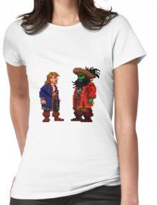 Guybrush & LeChuck (Monkey Island 2) Womens Fitted T-Shirt