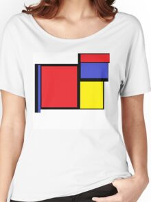 Tribute to 80's Mondrian Women's Relaxed Fit T-Shirt