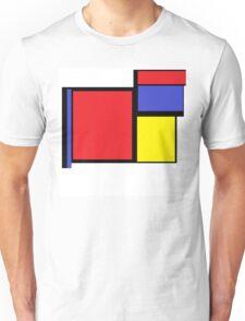 Tribute to 80's Mondrian Unisex T-Shirt