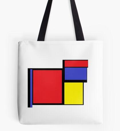 Tribute to 80's Mondrian Tote Bag