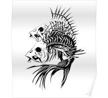 Fish Bones Poster