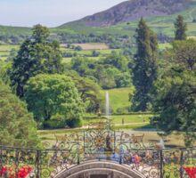 View from the Terrace - Powerscourt Estate Sticker