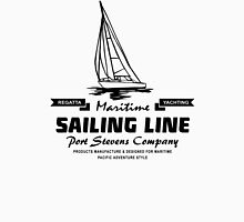 Maritime Sailing Line – Sailingboat Unisex T-Shirt