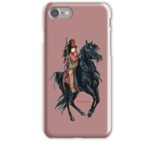 Winnetou by tasmanianartist for Karl May Friends iPhone Case/Skin