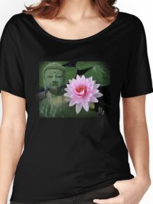 buddha lotus Women's Relaxed Fit T-Shirt