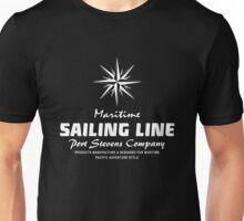 Maritime Sailing Line - Compass Unisex T-Shirt