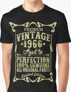 Premium vintage 1966 aged to perfection Graphic T-Shirt