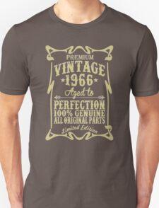 Premium vintage 1966 aged to perfection Unisex T-Shirt