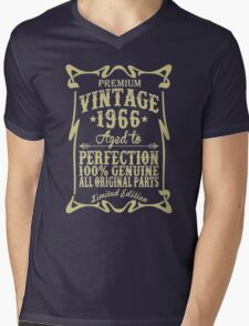 Premium vintage 1966 aged to perfection Mens V-Neck T-Shirt