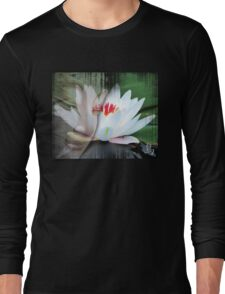 buddha lotus 1 Long Sleeve T-Shirt
