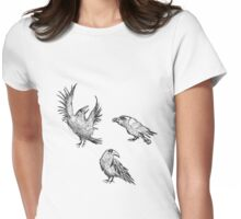 Ravens Womens Fitted T-Shirt