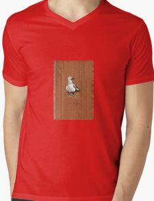 Gulls on Grass #2 Mens V-Neck T-Shirt