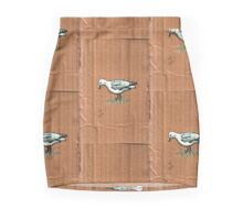 Gulls on Grass, #3 Mini Skirt