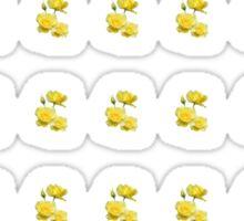 Yellow Rose Boquet Sticker