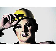 Butch Queen Photographic Print