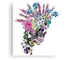 Skull - Punk Canvas Print