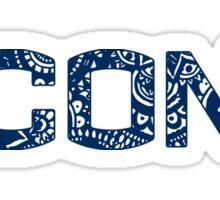 UConn Doodle Sticker