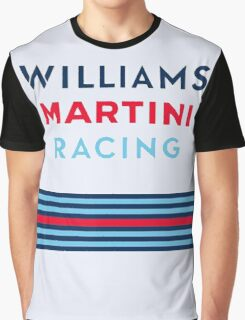 F1 WILLIAMS MARTINI RACING Graphic T-Shirt