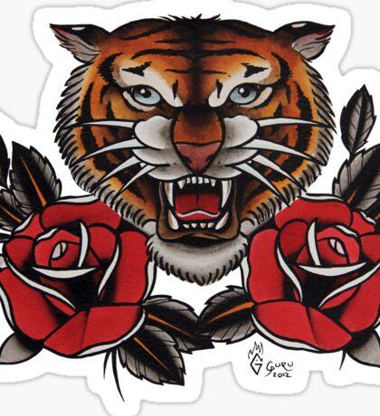 Tiger - TATTOO Sticker